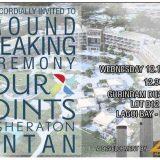 Ground Breaking Sheraton Hotel Bintan