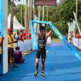 Andy Wibowo dan Inge Prasteyo Jadi Triatle Tercepat di Bintan Triathlon 2018.