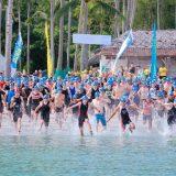 Peserta Top Elite atlit Triathlon Singapura kembali berlaga di ajang Bintan Triathlon yang digelar ke-15 di Bintan Resorts