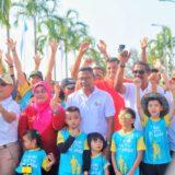 Family Run Bikin Pembukaan Mandiri Bintan Marathon 2019 Heboh