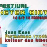 Festival Keter Bintan 2020 akan mewarnai kembali wisata Bintan